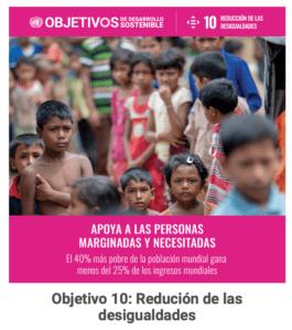 ODS10: lucha contra las desigualdades