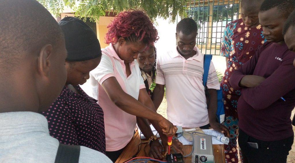 aula solar en Togo