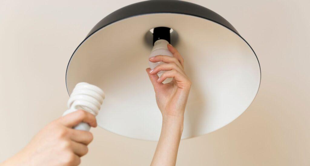 cambio de bombilla LED